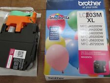 Brother Printer LC103M XL Magenta Original Ink Cartridge Genuine Inkjet