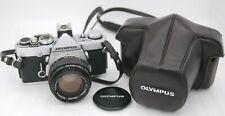 [Near Mint-] OLYMPUS OM-1N + OM-SYSTEM G.ZUIKO AUTO-S 50mm F/1.4 From Japan
