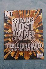 Management Today Magazine: Dec 2013/Jan 2014, Britain's Most Admired Companies