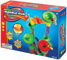Marble Run 80 Piece by Toysmith, Build Endless Variations, New, Free Shipping