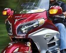 KURYAKYN 7362 CHROME FAIRING EYEBROW ACCENT GL1800 GOLDWING 2012-2016