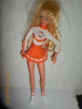 """Barbie 1997 University of Illinois Cheerleader Doll 12"""" Poseable"""