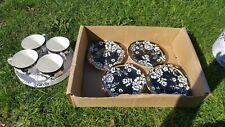 Brocade Fine China Tea Cups And Saucers