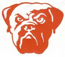 REFLECTIVE Cleveland Browns fire helmet motorcycle hard hat decal sticker yeti