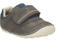 Clarks Tiny Tay Shoes Prewalking/ 1st shoes boy size 4 F Rrp $89.95