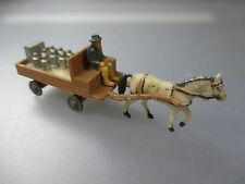 "Siku Plastic V-Series - Horses Carriage With Jugs V429 "" Milk Car "" (SSK60)"