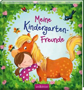 Freundebuch Pferde Meine Kindergarten Freunde Ab 3 Jahren + BONUS