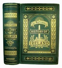 IRELAND IRISH HISTORY ANTIQUE 1886 Celtic Pagan Kings War Catholic ILLUSTRATED