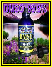 **DMSO Dimethyl Sulfoxide liquid 99.9% Pure with Dropper lid FLORIDA USA DMSO **