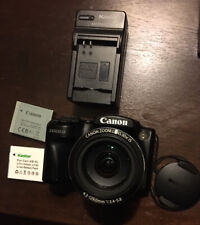 Canon PowerShot SX500 IS 16.0MP Wide Angle Compact Digital Camera