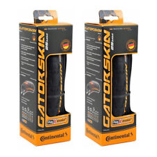 PAIR 700x25c Continental Gatorskin Folding Tires Puncture Resist Road City Bike