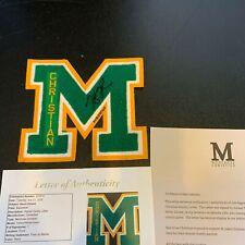 Kevin Durant Signed High School Varsity Christian Montrose Mustangs Letter JSA