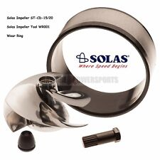 Solas Sea Doo Impeller ST-CD-15/20 951 Limited DI With Wear Ring And Tool