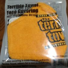 PITTSBURGH STEELERS TERRIBLE TOWEL FACE MASK COVER MYRON COPE NFL LICENSED