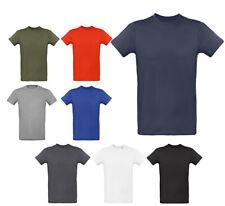T-Shirt En Bio Coton Col Rond Décolleté