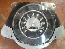 Early Ford Bronco Speedometer and Gauge Cluster