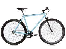 Bici Bicicletta Fixie Bike Scatto Fisso Single Speed & Fixed Gear - Black/Blue