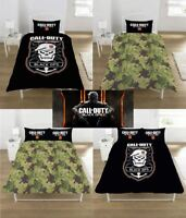 Call of Duty Black Ops 4 Single/Double Reversible Duvet Cover Bedding Set
