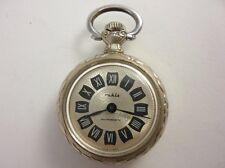 Vintage German RUHLA Antimagnetic Ladies Pocket Watch Decorated 1960's