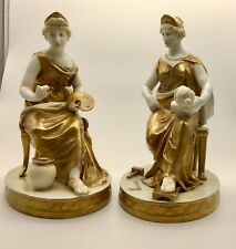 Antique Pr Naples Capo di Monte Classical Figurines circa 1820