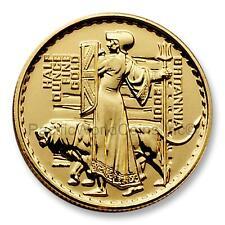 Great Britain 2001 Britannia (Una and the Lion) 50 Pounds 1/2 oz Gold Coin S7715
