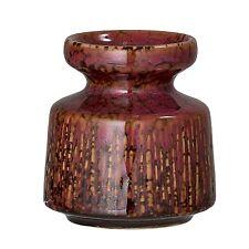 Bloomingville Kerzenhalter rot Keramik rund 8 cm Kerzenständer