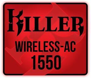 WLAN ADAPTER KARTE KILLER AC 1550 + BLUETOOTH 5.0 ; M.2 2230 Wi-Fi PCIe