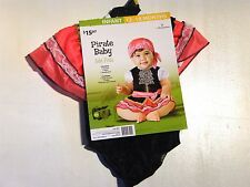 Child Girl 12-18 months Pirates of the Caribbean like Halloween Costume