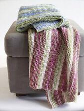 Knitting Pattern -Baby Cot/Pram Cover/Blanket P0083
