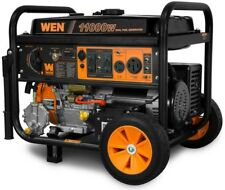 WEN Portable Generator 120V Dual Fuel Propane Powered Electric Start Wheel Kit