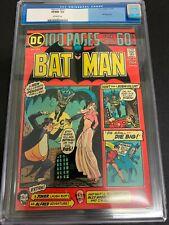 BATMAN #257 * CGC 9.0 * (DC, 1974)  100 PAGE GIANT!!  BONDAGE COVER!!