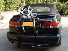 SAAB 93 convertible porte-vélo - 2 MOTOS