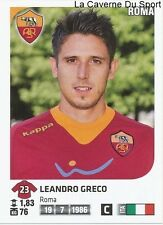 LEANDRO GRECO # ITALIA AS.ROMA RARE UPDATE STICKER CALCIATORI 2012 PANINI