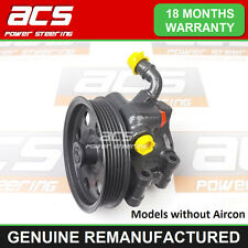FORD FOCUS POWER STEERING PUMP 1.4, 1.6 PETROL 1998 TO 2005 - RECONDITIONED