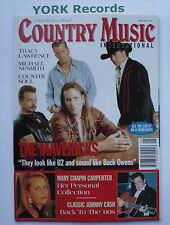 COUNTRY MUSIC INTERNATIONAL MAGAZINE - May 1995 - The Mavericks /Johnny Cash