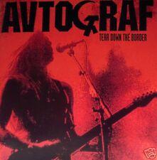 Autograf - Tear down the border CD