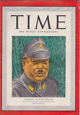 MARCH 2 1942 vintage TIME magazine - JAPAN - YAMASHITA