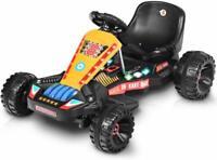 Go Kart Car Kids Ride Pedal Powered Ride for Boys & Girls ADJUSTABLE SEAT