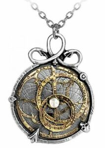 Alchemy England - Anguistralobe Necklace, Steampunk Pendant Gothic, Snakes, Gift