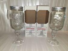 The Original Rednek 16 oz. Mason Jar Wine Glass by Carson