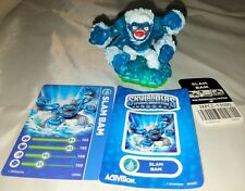 2011 Activision Skylanders  SLAM BAM  Figure Loose w Cards and Stickers