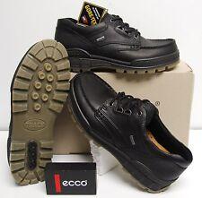 ECCO TRACK II schwarz black GTX Herren Outdoor Halbschuh mit Gore-Tex Echtleder