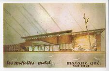 Les Mouette Motel MATANE SUR MER Bas St-Laurent Quebec Canada Postcard