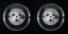 "Lot of 2 Empty Reels 5 inch Take Up for 1/4"" Audio Tape Plastic Blank Reel"