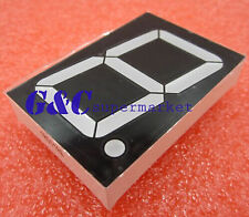 5Pcs 1.8 inch 1 digit Yellow Led display 7 segment Common cathode