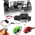 Metal Electric Winch+Controller for 1/10 RC Car Crawlers TRX-4 TRX4 D90 SCX10 US