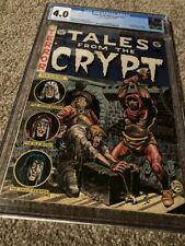 TALES FROM THE CRYPT #31 CGC 4.0 OFF WHITE TO WHITE PAGES =1ST AL WILLIAMSON ART