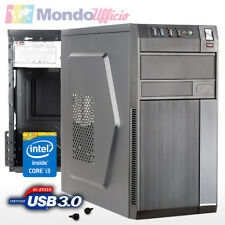 PC Computer Intel i3 8100 3,60 Ghz Quad Core - Ram 8 GB - SSD 240 GB - USB 3.0
