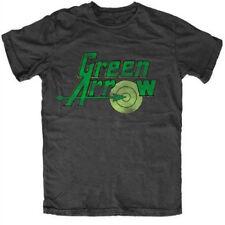 Dc Originals Green Arrow Logo Black T-Shirt Unisex Taille / Size XL IMPORT