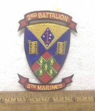 USMC 2nd Battalion 5th Marines Embroidered Patch